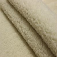 Buy cheap High quality China Manufacturer super soft polyester Sherpa fleece fabric from wholesalers