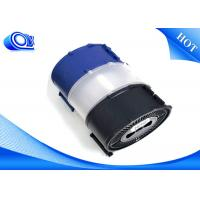 0.25mm / 0.5mm White Sheath PMMA  Fiber Optic Patch Cables Smooth Surface Manufactures