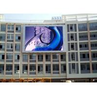 SMD3535 Outdoor Full Color LED Screen 8mm Pixel Pitch Wide Visual Distance Manufactures