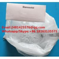 China Top Quanlity Safe Raw Steroids Muslce Growth Powder Stanozolol / Winstrol CAS 10418-03-8 on sale
