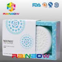 White Cardboard Soap Packaging Paper Box With Custom Design