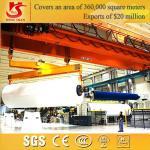 Customizable qb model double girder traveling eot explosion proof crane Manufactures