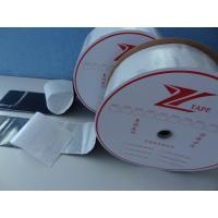 Hot Melt Nylon Hook And Loop Fastener Tape With Heat Pressing Adhesive Film Manufactures