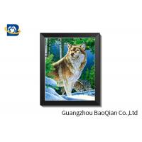 Fashionable 3D Effect 5D Lenticular Printing Picture For Home Decoration Manufactures