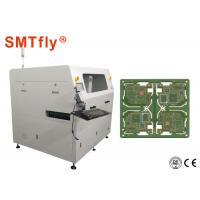 Inline Cnc PCB Router Machine , PCB Laser Cutter Double Workbench SMTfly-F06 Manufactures