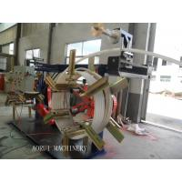 Full Automatic Electric Wire Plastic Pipe Extrusion Line Double Screw Extruder Manufactures