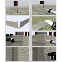 China Decorative Fiber Cement Siding That Looks Like Wood , Exterior Cement Board Siding on sale
