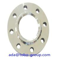 "3000 MM Forged Steel Flanges , 2507 UNS S32750 2507 2"" 150# Stainless Steel Slip On Flange Manufactures"