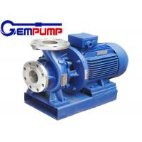 ISW Horizontal  Hot Water Booster Pump / Pipe Centrifugal Pump Manufactures