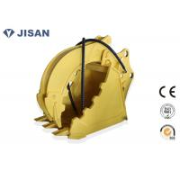 Non Rotary Excavator Grab Bucket Hydraulic Large Jaw Opening For CAT320 CAT330 Manufactures