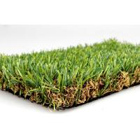 Environmental Playground Artificial Grass For Landscaping / Park 35mm Dtex11000 Manufactures