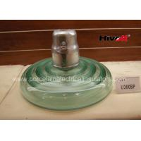 High Voltage Glass Insulators , Cap And Pin Power Line Glass Insulators U300BP Manufactures