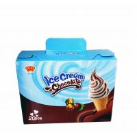 Fancy and Crisp Chocolate Candy Crisp Ice Cream Shaped Chocolate Dessert Cups Manufactures