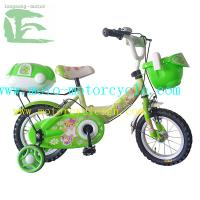 Safety Peach 18 / 20 Pedal Children Bicycle Painted With Brake Lever Manufactures