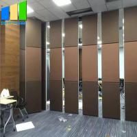 China Hotel Sliding Partition Walls Design Room Divider  Removable Portable Partition on sale