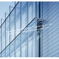 Double Layer Insulation Glass Curtain Wall Stick Built System Transparant Manufactures