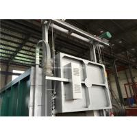 PLC Controlled Electric Resistance Bogie Hearth Furnace 6-8 M/Min Door Manufactures