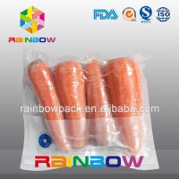 Clear Nylon Food Vacuum Seal Bags For Fresh Food Packaging With Texture Manufactures