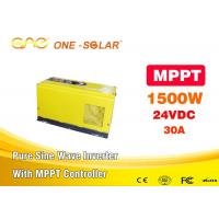 China Single Output Mppt Solar Inverter 1500 Watt Pure Sine Wave Inverter For Home Use on sale