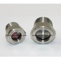 male Metric thread M36 stainless steel oil level sight glass with SS 304 reflector no finishing , China Manufactures