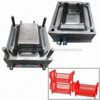 China Plastic Vegetable Crate Mold, Hot Runner System, Automatic Work, Customized Designs are Accepted on sale
