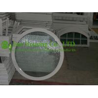 White Color Aluminum Round Fixed Windows For ResidentialHome,10.38mm laminated glass Manufactures