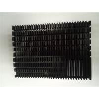 Custom Extrusion Aluminum Heat Sinks / Cold Forging Pin Fin Cob 0.2 Mm Thin Manufactures