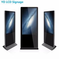Free Standing Interactive Touch Kiosk With Light Box Manufactures