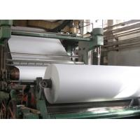 China Carbon Steel A4 Paper Making Machine 900m / Min Speed For Waste Paper Recycling on sale