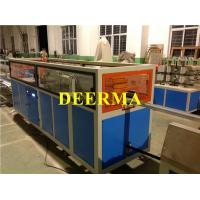 Plastic Window Frame PVC Profile Extrusion Machine / PVC Window Machine Manufactures