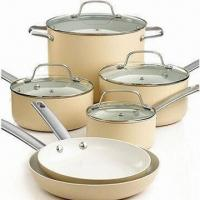 China Non-stick Cookware Set with Saucepan and Heavy-gauge Aluminum, Oven Safe on sale