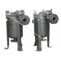 High Capacity Bag Filter Vessel , Liquid Filter Housing For Water Treatment Industry Manufactures