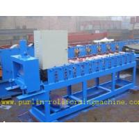 Roof Ceiling Roll Forming Machine , Omega Channel Roll Forming Machine For Furring Channel Manufactures