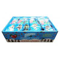 Cow shape stawberry and milk flavor lollipop with Fluorescent sticks Manufactures