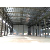 China Q235B, Q345B Grade fast installed EPS/PU/XPS sandwich panel steel structure warehouse on sale