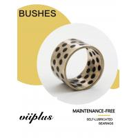 China C86300 Manganese Bronze Bushing Graphite Plugs Inch Size | Sleeve Bushing for Hydro Mechanical Equipments on sale