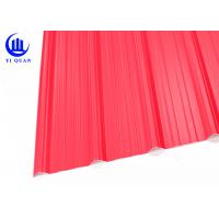 Acid Proof APVC Corrugated Pvc Roofing Sheets Plain Roof Tiles