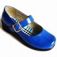 Children's Dress Shoes with PU Upper, Available in Various Sizes and Colors Manufactures