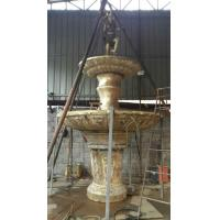 large handicraft stone water fountain garden bronze & brass fountain Manufactures