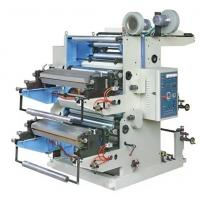 China 2 color flexo printing machine for plastic bags nonwoven EPC device on sale