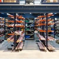 Easily Assembled Industrial Cantilever Racks Adjusted Layers 2.3mm Depth Manufactures