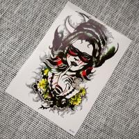 Nonmetallic temporary tattoo beauty HB003 Manufactures