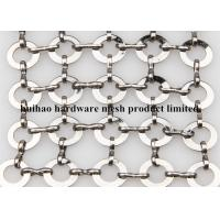 Ring Dia 1.0 x 20mm S Hook Metal Mesh Drapery with Flat Wire For Ceiling Treatments Manufactures