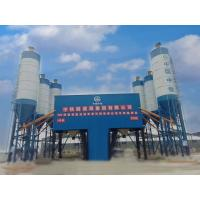 High Weighing Accuracy Concrete Mixing Station 4 Grids Bin HZS180 Model Manufactures
