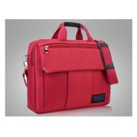Foam padding red laptop bags for women with embroidery logo and reinforced handle Manufactures