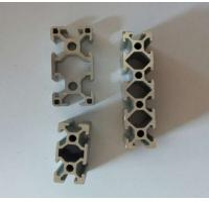 China Silvery Anodized Industrial Aluminium Profile , Aluminium Alloy 6063 Extrusion on sale