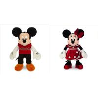 Christmas Minnie Mouse and Mickey Mouse Disney Plush Toys 40cm Manufactures
