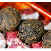 Organic Pu Erh Mini Tuo Cha , Cooked Yunnan Puer Tea Cake With Powerful Flavor Manufactures