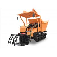 Safe Controls Rubber Track Dump Truck / Small Tracked Dumper Easy Maintenance with dump bed, tracked for sale