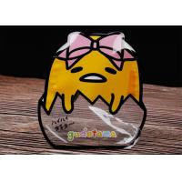 Birdie Shaped Clear Food Packaging Bags , Marshmallow Stand Up Pouches With Window Manufactures
